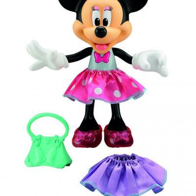 20OCTUBRE2014 Novedades de Mattel.  Minnie Parlanchina Presumida.