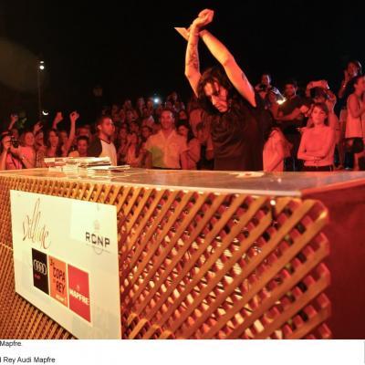 16AL21JULIO2012  31 Copa del Rey Audi Mapfre, en Palma de Mallorca. Village, Mario Vaquerizo.