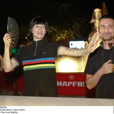 16AL21JULIO2012  31 Copa del Rey Audi Mapfre, en Palma de Mallorca. Village, Bimba Bosé y David Delfín.