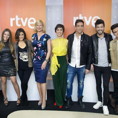 29ENERO2016 La 1 de TVE emitirá el lunes 1 de febrero 'Objetivo Eurovisión', presentado por Anne Igartiburu.