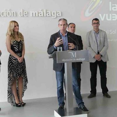 ABRIL2015 'Amanecer' de Edurne será la canción oficial de la Vuelta 2015.