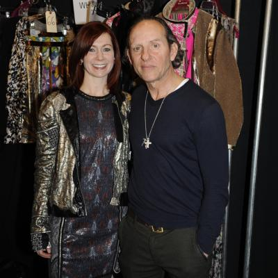 "10FEBRERO2014 Custo Barcelona desfila en la New York Fashion Week,con su colección ""En voz baja"". Carrie Preston. Foto: Custo Barcelona."