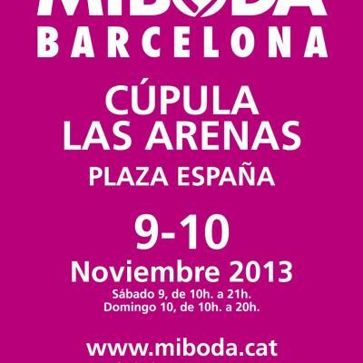 08NOVIEMBRE2013 El Salón MiBoda Barcelona a la Cúpula de Las Arenas de la Plaza España.  Foto: Flaqué.