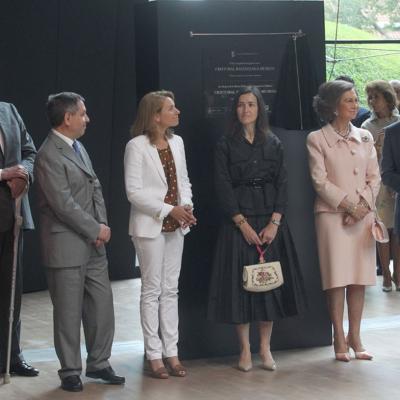 07JUNIO2011 Inauguración Museo Cristóbal Balenciaga en Getaria. Foto: Agencias.