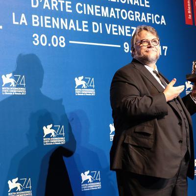 SEPTIEMBRE2017 Guillermo del Toro, El León de Oro de Venecia. Foto. Image.