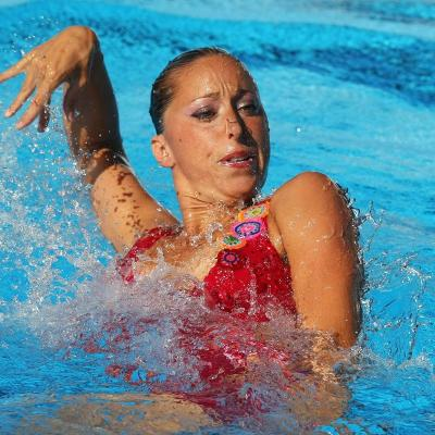 15FEBRERO2012 Gemma Mengual en competición. Foto: Agencia.