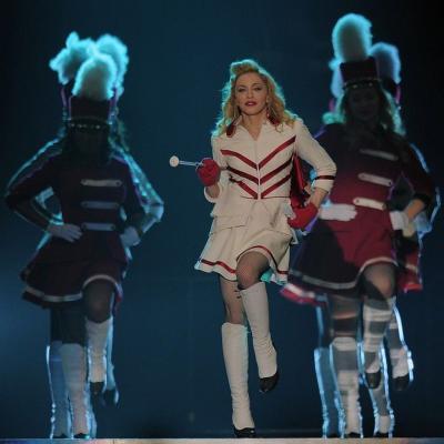 """20JUNIO2012  Concierto Madonna en el Palau Sant Jordi de Barcelona, para presentar su gira """"MDNA"""". Foto: Agencia."""