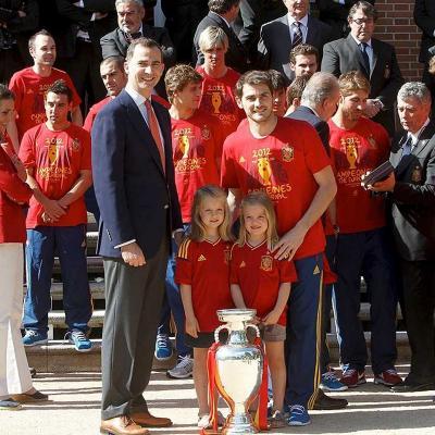 JULIO2012 Eurocopa 2012 para la Selección Española, festejo, Zarzuela y fiestón en la Cibeles. Foto: Agencias.