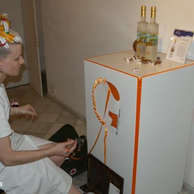 29JUNIO2011 Presentación oficial del vodka Van Gogh, que irrumpe en el mercado Español. Foto: Montse Carreño.