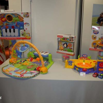 04OCTUBRE2011  Presentación de los nuevos juguetes de Mattel para las próximas Navidades. Foto: Montse Carreño.