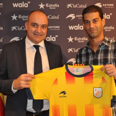 07OCTUBRE2013 Gerard López nuevo entrenador de la Selección Catalana. Foto: FCF.