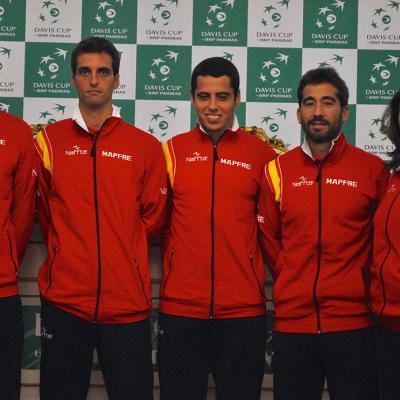 ABRIL2017 España perdió en cuartos de final de la Copa Davis frente a Serbia. Foto: RFET.