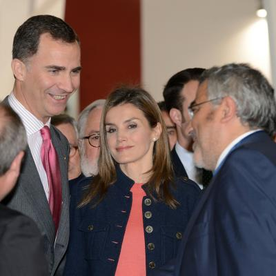 31MARZO2014 Inauguración del Salón de la Alimentaria con la visita de los Príncipes de Asturias. Foto: Montse Carreño.