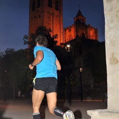 24JULIO2013 1400 corredores en la Moonrace de Sant Cugat. Foto: CAR.