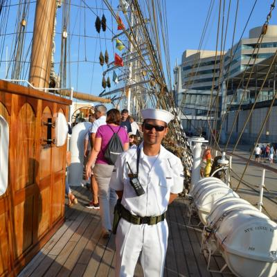 24SEPTIEMBRE2013 Mediterranean Tall Ships Regatta en Barcelona, del 21 al 24. Foto: Martin Martin.