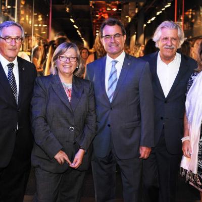 19SEPTIEMBRE2012 Fiesta de la firma catalana Armand Basi, por su 25 aniversario. Foto: Basi.