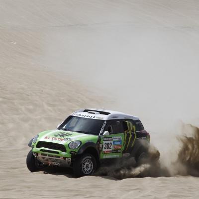 10ENERO2013 Quinta etapa del Dakar. Nani Roma. Foto: ASO/DPPI.
