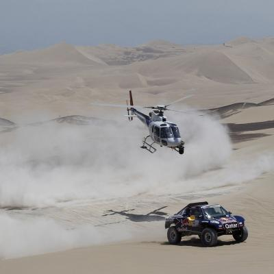 10ENERO2013 Quinta etapa del Dakar. Foto: ASO/DPPI.