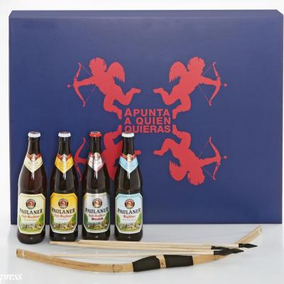 23ENERO2014 La cerveza Paulaner, propone jugar y beber para San Valentín.