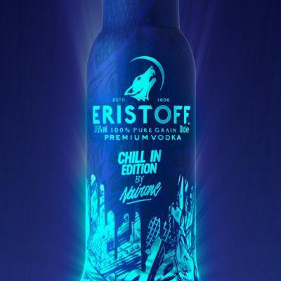 AGOSTO2017 Eristoff presenta su botella edición limitada.