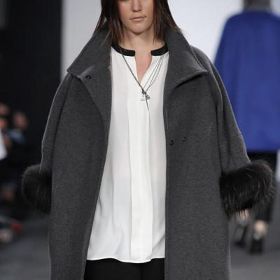 11FEBRERO2016 Marisa Jara presenta en exclusiva la nueva colección otoño-invierno 2016 de Elena Miró.