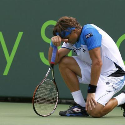 31MARZO2013 Torneo de Miami, David Ferrer finalista frente a Murray. Foto: TenisWeb.