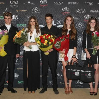 8 al 13JULIO2012 Imagen de algún desfile en la pasarela 080 Barcelona Fashion.Elite Models Look ganadores y finalistas.  Foto: 080Barcelona.