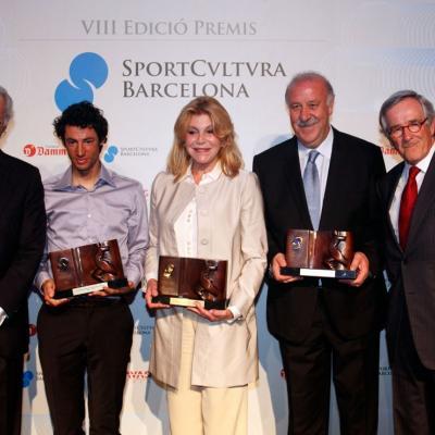 17ABRIL2013 Galardones de la VIII edición de los Premios Sport Cultura Barcelona.