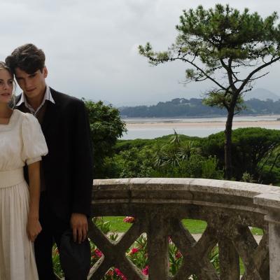 """03AGOSTO2011 Imágenes del rodaje de la nueva serie de Antena 3 """"Gran Hotel"""". Foto: Antena 3."""