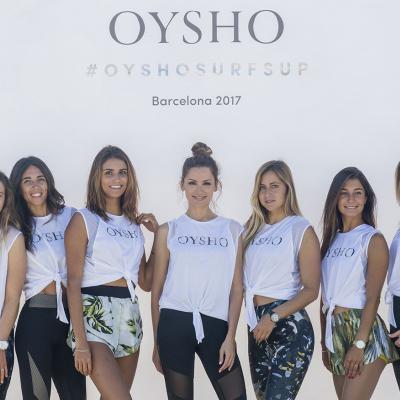 JUNIO2017 Oysho Surf's Up estuvo en Barcelona.