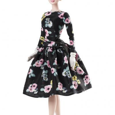 SETIEMBRE2011 Los tres vestidos que se han creado para la muñeca Barbie en homenaje a la Princesa Grace de Mónaco. Foto: Mattel.