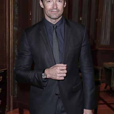27ENERO2014 Hugh Jackman, embajador de los relojes de Montblanc.