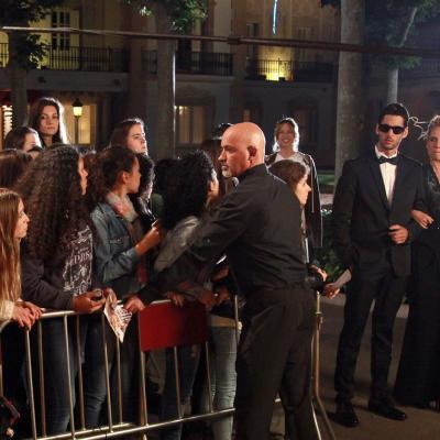 """26MAYO2014 Rodaje de la película """"Sólo química"""". Foto: Montse Carreño."""