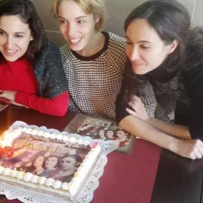 """23ENERO2015 'Divinas' viven un """"momento delicioso"""" en Ilodi con motivo de sus 10 años en los escenarios."""