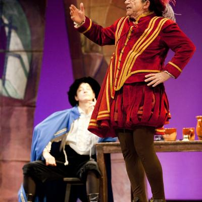 12DICIEMBRE2013 Don Juan Tenorio, ara musical con Joan Pera, Lloll Bertran i Deparamo. Foto: Focus.