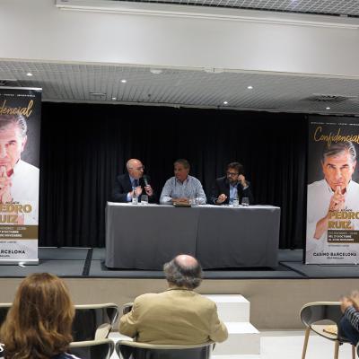 18SEPTIEMBRE2017 Pedro Ruiz presenta su espectáculo 'Confidencial' en Casino Barcelona. Foto: Montse Carreño.
