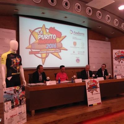 14JUNIO2016 Presentada La Purito 2016 - Gran Premio Andbank.