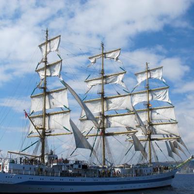 24SEPTIEMBRE2013 Mediterranean Tall Ships Regatta en Barcelona, del 21 al 24. Foto: Mari Carmen Lubian