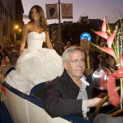 08OCTUBRE2011 Coronación de la Reina del Cava a Malena Costa, en la XXX Semana del Cava de Sant Sadurní d'Anoia. Foto:  EP.