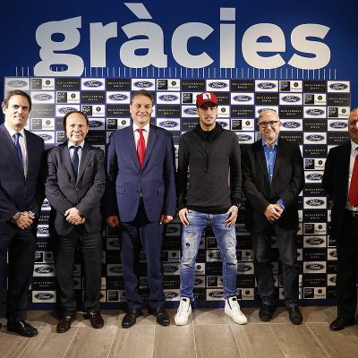 FEBRERO2017 Donnay, del Grupo Montalt, inaugura sus nuevos espacios Ford, entre ellos el primer FordStore de la ciudad de Barcelona. Foto: Àngel Carbonell.