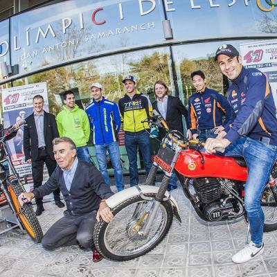 05FEBRERO2017 Trial Indoor Solo Moto en Barcelona celebrando los 40 años. Presentación.