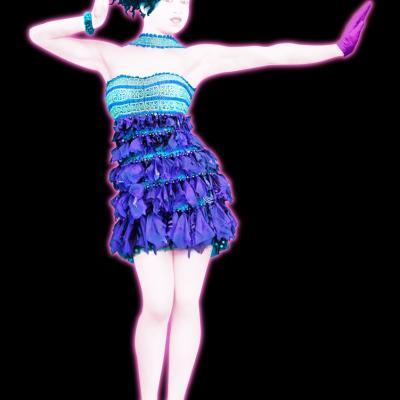 13DICIEMBRE2012 Custo Dalmau presentó el vestido que ha creado para el juego Just Dance 4. Foto: XXL Comunicación.