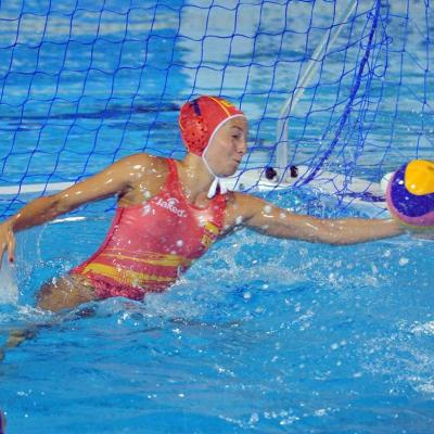 02AGOSTO2013 El waterpolo femenino gana el oro. Foto: Manel Martin.