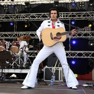 08JULIO2012 Homenaje al Rey del Rock Elvis Presley.. Foto: J.C.Orengo.