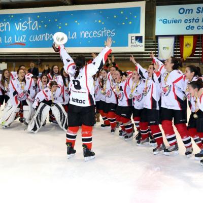 10MARZO2014 Copa de España Femenina de Hockey 2014.