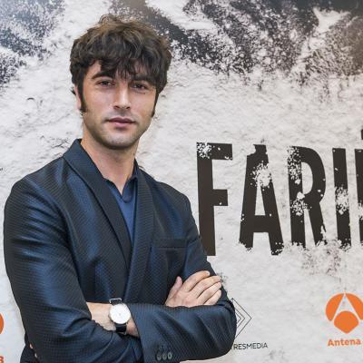 """NOVIEMBRE2017 Entrevista con Javier Rey sobre su papel en la serie """"Fariña"""". Foto: Atresmedia."""