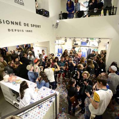 21MARZO2013 Inauguración de la tienda Le Coq Sportif, en Barcelona. Foto: Bito Cels.