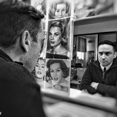 16MARZO2016 Los directores  Arturo Ripstein y Juan Antonio Bayona se unen al reparto de 'La Reina de España' de Fernando Trueba. Foto: Atresmedia Cine.