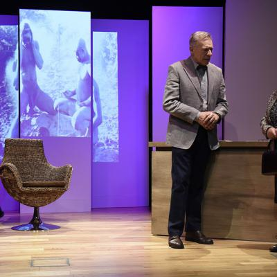 NOVIEMBRE2017 'LENI' a la Sala Muntaner con Montse Guallar y Sergi Mateu.