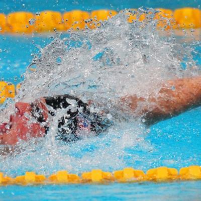 02AGOSTO2013 El waterpolo femenino gana el oro.Ryan Lochte.  Foto: BCN2013.
